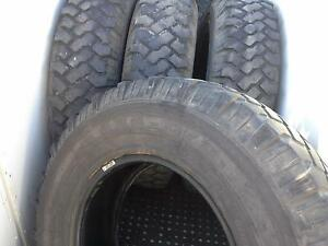 Michelin 7.50 x 16 10ply tyres used Toowoomba Toowoomba City Preview