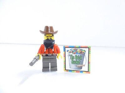 LEGO Western 6755 6761 6762 6764 6769 Cowboys Bandit  3 Top Hat    Revolver  NEW 46ecce9f5a3a