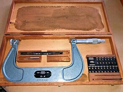 Tesa Thread Pitch Micrometer 5-6 Spi 10-376