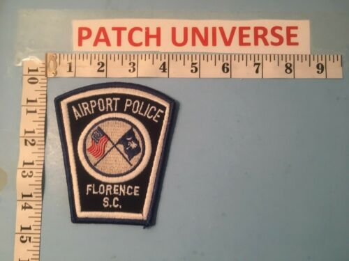 FLORENCE  SC AIRPORT  POLICE  SHOULDER PATCH  Q023