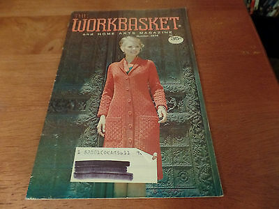 Винтажные October 1974 The Workbasket and