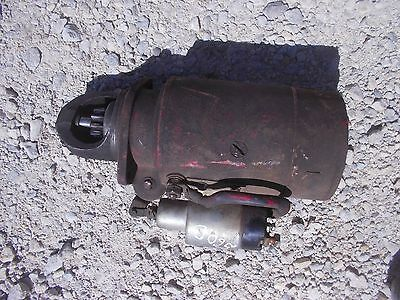 Farmall Ih Ihc 560 Diesel Tractor 12v Non- Working Starter Assembly