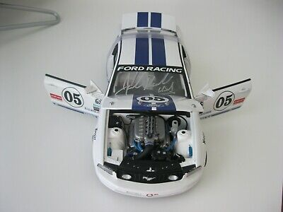 JACK ROUSH AUTOGRAPHED 2005 FORD MUSTANG FR500C 1:18 DIECAST GRAAND-AM CUP