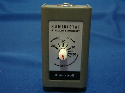 Honeywell H49a1019 120240 Vac Duct Mounted Humidistat Controller