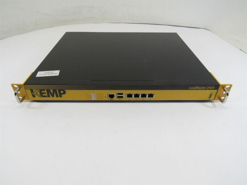 Kemp NSA3130-LM2400 L4/L7 Load Balancer 4x 1GbE 2-Core 1GB RAM 32GB SSD RMK