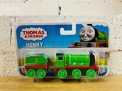 Henry - Thomas & Friends Trackmaster Push Along Trains - Brand New