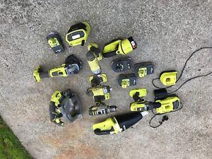 Ryobi 18v+ tool kit