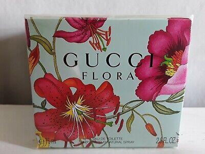 GUCCI FLORA Ladies Eau De Toilette, 75ml (Large) EDT, Brand New & Sealed
