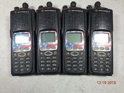 Motorola Xts5000 700800 Mdl Iii P25 Radio H18uch9pw7an Flsh 5800080004820 Lot 4