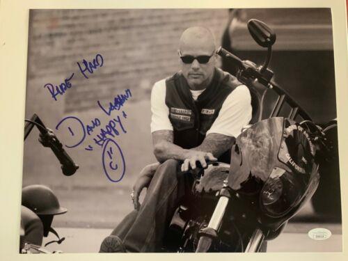Sons of Anarchy David Labrava Autographed Signed 11x14 Photo JSA COA