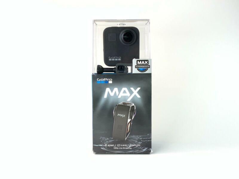 GoPro MAX 360 Degree 6K Action Camera (Black) CHDHZ-201