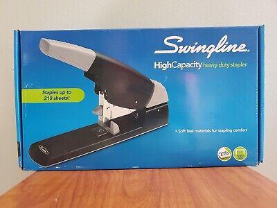 New Swingline 90002 High Capacity Stapler Heavy Duty 210 Sheet