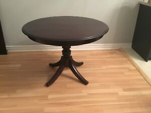 Price reduced solid wood dining table for sale