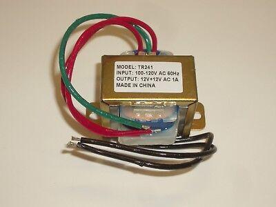 Philmore Tr241 120vac To 24vac Center Tap Ct 12v-0-12v 1a Power Transformer