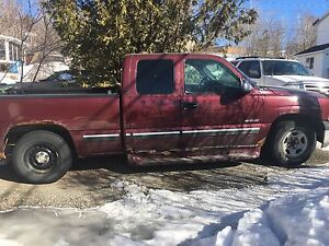2001 Chevy Silverado only 155,000kms