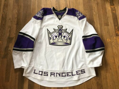 Los Angeles Kings Team Issued Pro Stock White Road Jersey Reebok