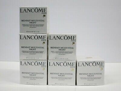 LANCOME BIENFAIT MULTI-VITAL NIGHT HIGH POTENCY MOISTURIZING CREAM 1.7oz SEALED