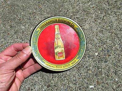 VINTAGE INDIANAPOLIS BREWING CO. TIP TRAY 1910 Liebers Gold Medal Beer #2