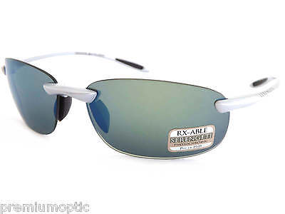 Serengeti Sunglasses Nuvola 8289 Metallic Silver Polarized P