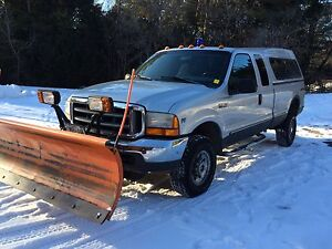 Ford F-250  super duty . With plow