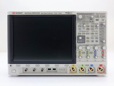 Keysight Used Msox4154a Oscilloscope Mixed Signal 4 16-ch 1.5 Ghz