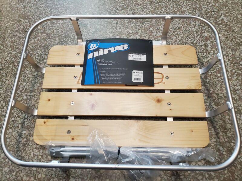 Nirve Front Rack w/wooden bottom