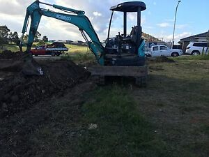 Excavator Bobcat Tipper Combo Marsden Park Blacktown Area Preview