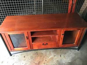 Wooden TV bench Burwood Burwood Area Preview