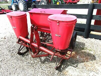 Barn Find Mf 2 Row Planter With Fertilizer Box Free 1000 Mile Delivery From Ky