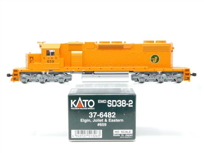 HO Scale Kato 37-6482 EJ&E Elgin Joliet & Eastern SD38-2 Diesel Locomotive #659