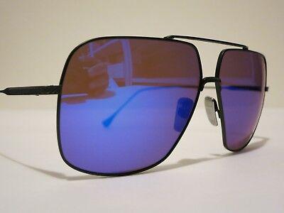 DITA FLIGHT 005 7805C Matte Black Blue Mirror Glasses Eyewear Sunglasses SALE!