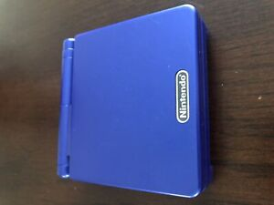 Game Boy Advance SP with 10 games