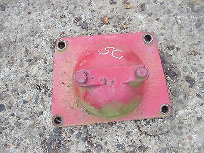 Farmall Sc C Sa A Tractor Ih Ihc Belt Pulley Delete Cover Super Rare