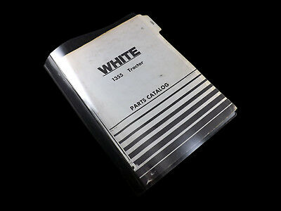 White 1355 Tractor Parts Catalog 433-199 574 Manual