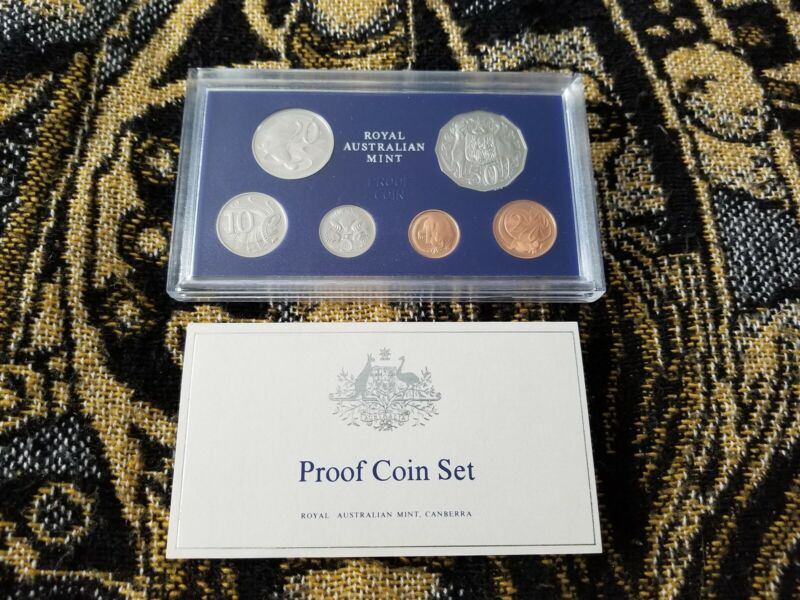 Australia 1983 Proof Set with COA and Box