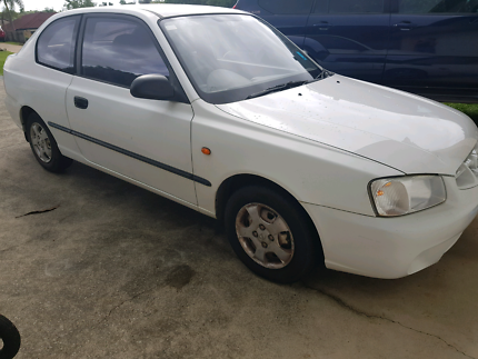 Hyundai Accent 2001 4 cylinder Auto roadworthy and registered