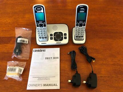 uniden digital phones phones gumtree australia free local rh gumtree com au Uniden DECT2080 3 Cordless Phones DECT 6.0 Manual