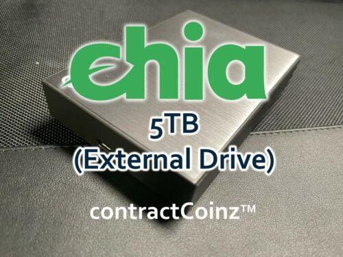 Chia Plot - Fast Plotting Service - 5TB External Hard Drive (45 plots)