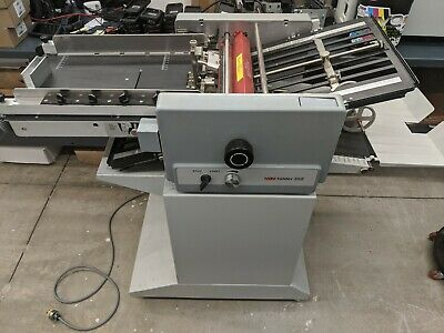 Mbm 352s Suction Feed Paper Folder - New Rollers - Includes Perforation Wheel