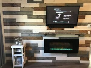 Wood for Fireplace wall