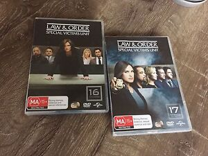 Law and Order SVU special victims unit seasons 16 and 17 Birmingham Gardens Newcastle Area Preview