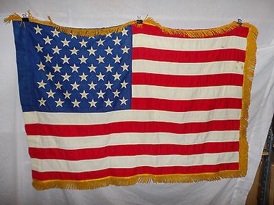 flag228  US 50 Star Flag Regimental Issue original Vietnam - now