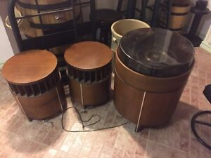 Fleetwood MS55 vintage round stereo