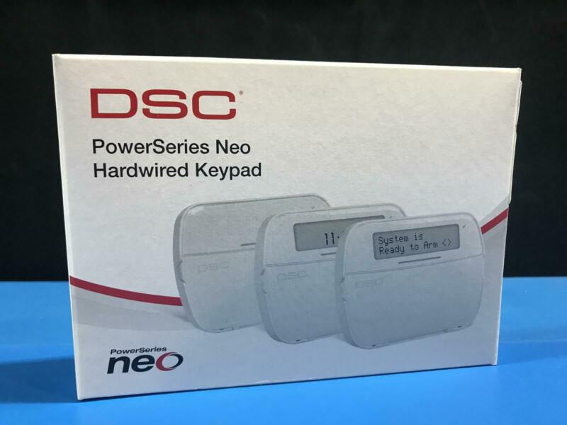DSC HS2LCDP PowerSeries  LCD Hardwired Security Keypad with Prox Support