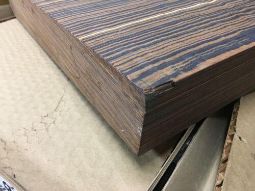 Colorply Ebony Swirl Lumber wood turning bowls pen blanks 6 x 6 x 2 or other Siz