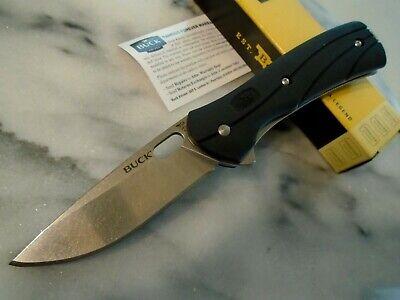 "Buck USA Vantage Select Tactical Pocket Knife 0345BKS-B 420HC GRN 7.50"" OA Black"