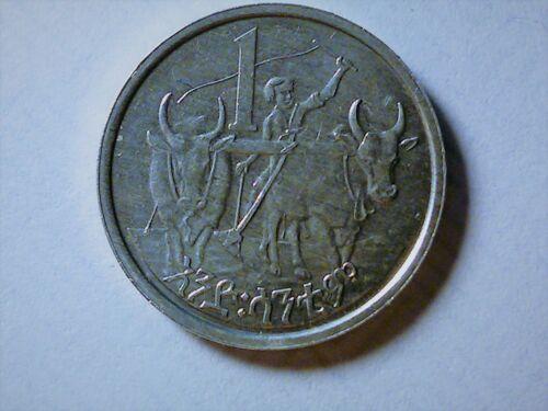 Ethiopia 1 Cent 1977  BU