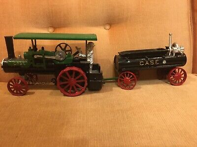 case steam tractor with water -
