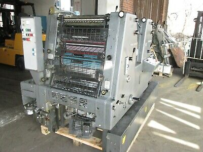 Heidelberg Gto 52 2 Color Kompac Ir Dryer