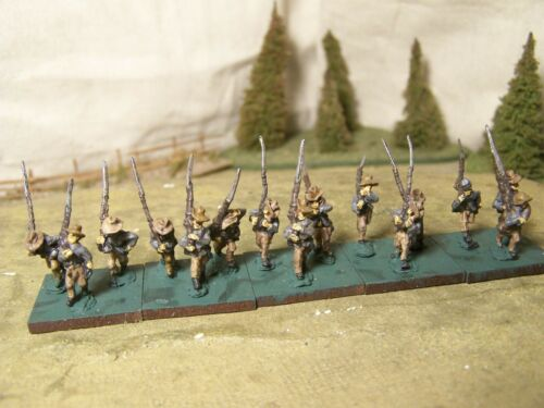 Confederate Infantry (H), ACW, 15mm